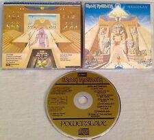 IRON MAIDEN - Powerslave CD 1ST PRESS EMI W.GERMANY *W STICKER INLAY MEGA RARE