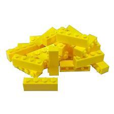 20 NEW LEGO Brick 1 x 4 BRICKS Bright Light Yellow