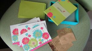"""NWOT 26 x Papyrus """"Thank You"""" Cards with Envelopes"""