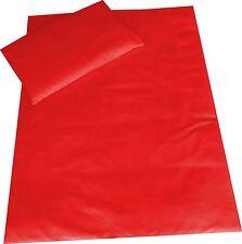 Kinder Bettlaken und Kissenbezüge in Rot