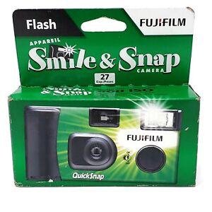 Fujifilm Quicksnap Flash 400 Smile and Snap 35mm Single Use Disposable Camera