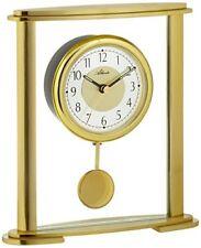 Atlanta 3069 Horloge de table Quartz Analogique Doré avec pendule et Verre À