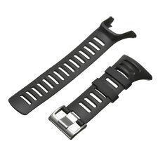 Gummi Uhrenarmband Ersatzarmaband Für SUUNTO Ambit 3/2/1 Sport Armbanduhr