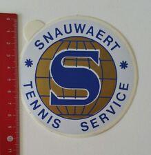 Pegatina/sticker: Snauwaert tenis Service (190217131)