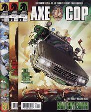 AXE COP: BAD GUY EARTH #1,2 & 3 Dark Horse Comics Ethan & Malachai Nicolle SET!