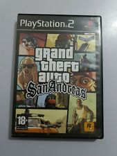GTA Grand Theft Auto SAN ANDREAS PlayStation 2 PS2 PAL España COMPLETO leer INFO