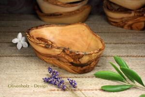 Olivenschale Antipastischale Tappasschale aus Olivenholz Schale18 x 9,5 cm