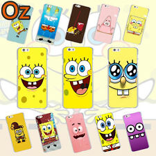 SpongeBob Case for Motorola Moto G7 Play, Painted Cover Weirdland