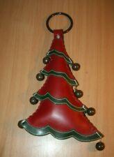 Christmas Tree Hanging Door Knob Handle Decoration with Jingle Bells