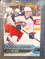 2016-17 Upper Deck Young Guns RC - YG - Free Ship - Sonny Milano & Nick Sorensen
