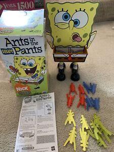 2005 Ants In The Square Pants Spongebob by Milton Bradley - Complete Set! Nick