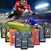 Offical NFL Licensed Football Teams Hybrid Protection Case Cover - iPhone 7 Plus