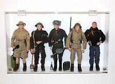"Collectors Showcase - Premium Display Case for Vintage 12"" GI Joe Action Figures"