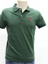 BEVERLY HILLS PC  Polo Uomo Manica Corta Cotone Elast Colore Verde Muschio Tg XL