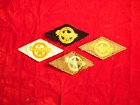 WW2 Set of 4 Ruptured Duck patches US ARMY NAVY MARINES