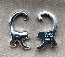 20 Gram Hand Poured 999 Silver Bullion Bar by YPS - Yeagers - Monkey - Shiny