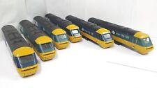 HORNBY JOBLOT BLUE HST 125 INTERCITY CLASS 43 TRAIN BODYS PARTS SPARES REPAIRS.