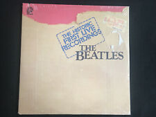 The Beatles-The Historic First Live Recordings-dbl.alb Pickwick Int.-sealed-1980
