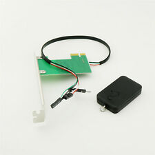 20M 2.4G PCI-E Desktop Remote Control Wireless Restart Switch Turn On/OFF PC