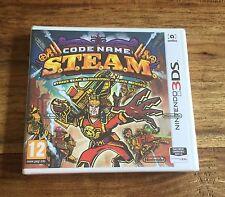 CODE NAME : S.T.E.A.M. Nintendo 3DS / 2DS Jeu Neuf Sous Blister VF