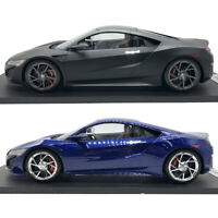 1/12 Scale Acura NSX Blue Pearl & Acura NSX Black Resin Car Model Collection