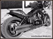 Sacoche en Cuir Tête de Mort SKULL - Harley sportster forty iron nighster v-rod