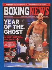 Boxing News Magazine - 5/10/07 - Kelly Pavlik & Jermain Taylor Cover