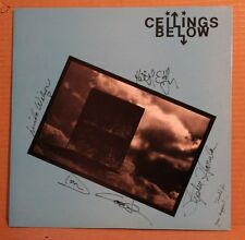 CEILINGS BELOW WITH CLASIC INSCRIPTION SIGNED AUTOGRAPHED LP RECORD ALBUM