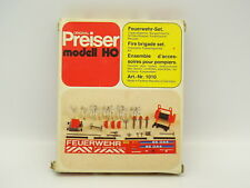 Preiser Kit da montare 1/87 HO - Accessori per Vigili del fuoco Feuerwehr