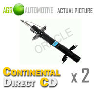 2 x CONTINENTAL DIRECT FRONT SHOCK ABSORBERS STRUTS SHOCKERS OE QUALITY GS3034FL