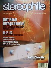 Stereophile vol 20,no.9 classe CAP 100, Denson Beat 100, Graaf GM 200 OTL, Audio