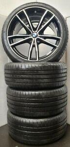 "Genuine BMW New 3 4 Series G20 G21 G22 G23 Alloys Wheels 791M 19"" inch Tyres set"