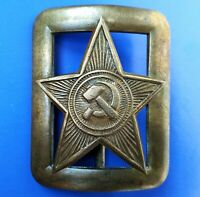Soviet Military Buckle Red Army of the USSR command of officers. Original