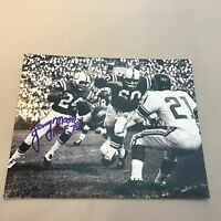 Lenny Moore HOF 1975 Signed Autographed 8x10 Photo Baltimore Colts