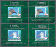 Ross Dependency-2006 Kiwipex-Birds set of 4 mnh mini sheets-uncommon