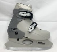 CCM Tyke ice skates youth junior size 12 13 1 grey new adjustable recreational