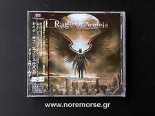 RAGE OF ANGELS - DREAMWORLD +1, Japan CD +OBI 2013 AOR, Ten, Tyketto NEW