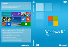 Windows 8.1 Pro 32/ 64bit Genuine License Product OEM Key 100% FULL SUPPORT