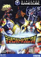 Used Nintendo GameCube Digimon Battle Chronicle Japan Import (Free Shipping)