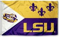 FLAG 3X5 LSU Tigers Football New Fast USA Shipping Louisiana State University S
