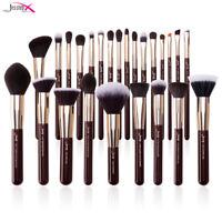 Jessup Pro Makeup Brushes Set Soft Vegan Foundation Eyeshadow Guide Cosmetic