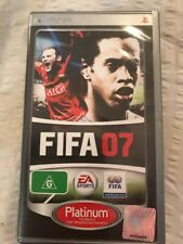 FIFA 07 Sony PSP + booklet + free postage
