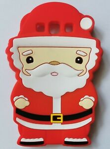 NEW 3D Novelty Christmas Santa Silicone Phone Case Cover Samsung Galaxy S3 i9300