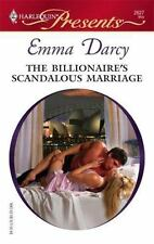 The Billionaire's Scandalous Marriage by Darcy, Emma