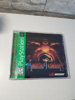 Mortal Kombat 4 MK PS1 (PlayStation 1, 1998) NTSC CIB
