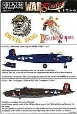 Kits World Decals 1/72 B-25J PBJ-1J MITCHELL Devil Dog & 1 For the Gipper