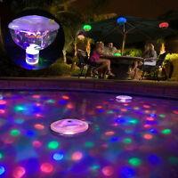 Aqua Glow LED Underwater Light Show Swimming Pool Disco Party Spa Bath Pond