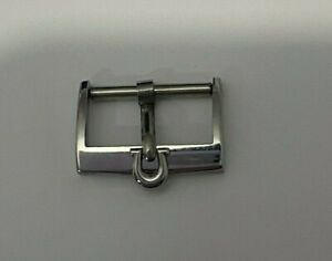 AUTHENTIC 1960'S OMEGA 16 MM STAINLESS STEEL BUCKLE  #0056