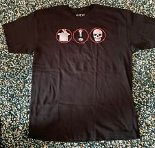 Rare Rush R40 Neil Peart Stage Promo T-Shirt Concert Moon Sabian Can't Fight It