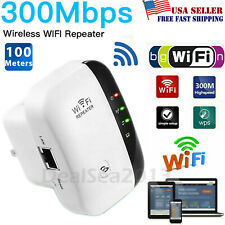 Lot 300M Wireless N Wifi 802.11 AP Repeater Range Extender Router Signal Booster
